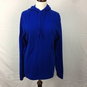Banana Republic Todd & Duncan Blue Cashmere Hoodie